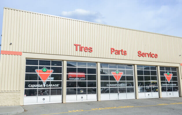Outside photo of Canadian Tire Auto Centre in Penticton